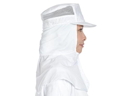 CVC布披肩帽