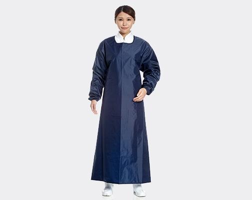 長袖連身式圍裙