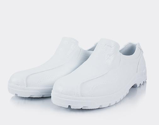 皮紋工作鞋