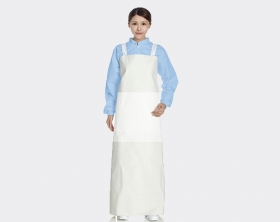 Ultra High Strength Greaseproof Rubber Apron<br><small>(Extra thick and tough at waist)</small>