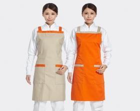 日式配色圍裙