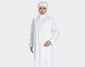 Hooded Long Workwear Coat