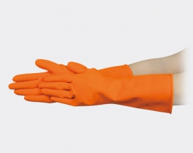 天然乳膠單色手套