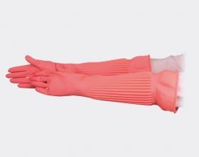 伸縮加長天然乳膠手套