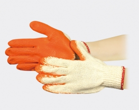 沾膠棉手套